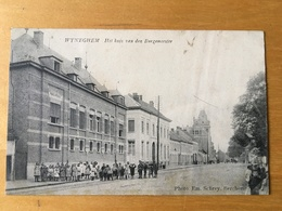CPA WYNEGHEM Het Huis Van Den Burgemeester - Wijnegem