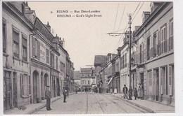 51 REIMS Rue Dieu Lumière ,façade Marchand De Pain D'épice Biscuits - Reims