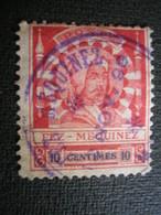MAROC - Postes Locales - FEZ à MEKNES N° 17 Oblitéré - Maroc (1891-1956)