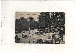 București Ou Bucarest (Roumanie) : Piata Sf. Gheorghe En 1910 (animé) PF. - Roumanie