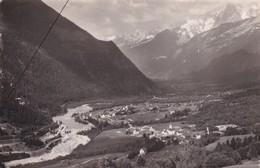 74, Les Houches, Mont Blanc, Vue Générale Et Vallée De L'Arve - Les Houches