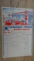 DESMARAIS Freres, Station Relais A AIX EN PROVENCE EN 1934  .................... F-2 - Automobile