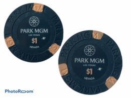 JETON / TOKEN LAS VEGAS 1$ CASINO PARK MGM - Casino