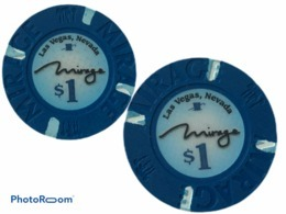 JETON / TOKEN LAS VEGAS 1$ CASINO MIRAGE - Casino