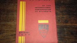 CIE _ BRUSSEL_ ANNO : 1930 _BOEKJE_____ BOX : F - Diploma & School Reports
