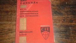 CIE _ BRUSSEL_ ANNO : 1930 _BOEKJE_____ BOX : F - Boeken, Tijdschriften, Stripverhalen