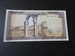 Banknote Libanon 10 Livres - Libano