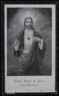 Image Pieuse Holy Card Heilig Prentje Sacré Coeur Fleurs Holy Heart Flowers Sacred Heart Of Jesus MARIE NIZETTE Cierreux - Images Religieuses
