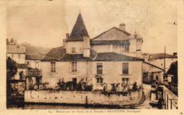 D24  DORDOGNE  BRANTOME  Maisons Sur Les Bords De La Dronne  ..... - Brantome