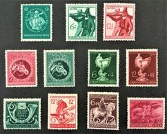 1944-1945 Albertus-Universität Mi.896**),Tiroler Landesschießen Mi.897-898**),Großer Preis Von Wien Mi.900-901**),etc. - Ungebraucht