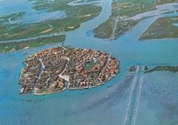 (F345) - BURANO (Venezia) - Panorama Dall'aereo - Venezia
