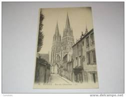 (118) -1- Carte Postale Sur Bayeux  Rue Des Chanoines - Bayeux