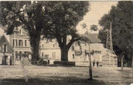 D24  SALIGNAC  La Gendramerie, La Poste Et Le Transformateur  ..... - Autres Communes