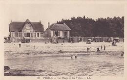 PIRIAC - La Plage Et Les Villas - Piriac Sur Mer