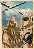 ILLUSTRATEURS HOMUALK  Les Cigognes De Strasbourg  ..... - Homualk