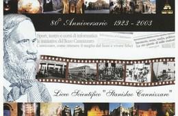 Palermo 2003 - 80° Anniv. Fondazione Liceo S. Cannizzaro - - Manifestations