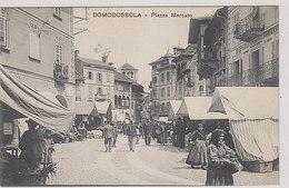 Domodossola - Piazza Mercato - 1909    (A-215-200107) - Verbania