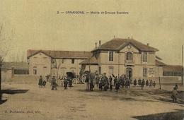 ORNAISONS - Mairie Et Groupe Scolaire - Altri Comuni