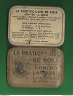 Scatola Latta X Pastiglie Re Sole Latta Roi Soleil Anni '50 - Scatole