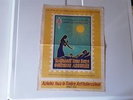 Affiche  Comité National De Défense Contre La Tuberculose 1961.1962 - Manifesti