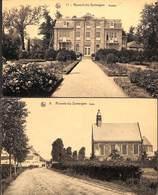 Ronsele-bij-Somergem - Lot 2 Kaarten Kasteel En Kerk - Zomergem