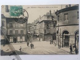 Sedan-Place De La Halle, Entrée De La Rue Carnot - Sedan