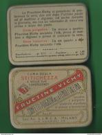 Scatola Latta Pillole Purgative Fructine - Vichy Anni 30 - Scatole
