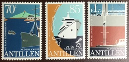 Netherlands Antilles 1982 Ships Shipping MNH - Curaçao, Antilles Neérlandaises, Aruba