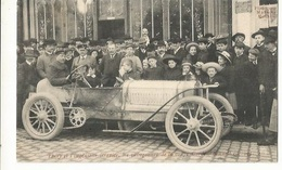 CPA . Th. Sport . ,Théry Et L' Ingénieur Brazier , Les Vainqueurs De La Coupe Gordon Bennet , Ed. 1905 - Rally