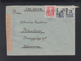 Spanien Brief 1938 Zensur Sevilla - 1931-50 Briefe U. Dokumente