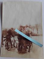 1915 Chasseurs Cyclistes Peleton Reconnaissance Estafettes Vélo Gérard Pliants Poilu Tranchée WW1 14 18 1WK 4 Photos - War, Military