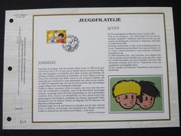 """BELG.1997 2707 : """" JOMMEKE """" Filatelistische Kaart Zijde NL.(CEF), Gelimiteerde Oplage - FDC"""