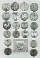 Silberne 10 Und 5 Mark Münzen. - [ 7] 1949-… : RFA - Rép. Féd. D'Allemagne