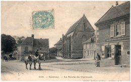 60 CATENOY - La Route De Clermont - Autres Communes