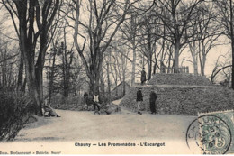 CHAUNY : Les Promenades, L'escargot - Tres Bon Etat - Chauny