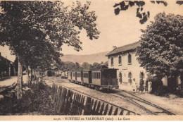 RUFFIEU EN VALROMAY : La Gare - Tres Bon Etat - Autres Communes