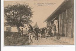 ANGOULINS : Déchargment Du Sel à La Salorge, Devant Les Douaniers (utilisée Tardivement) - Tres Bon Etat - Angoulins