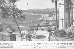 NICE : Hotel-restaurant Les Rives D'or - Tres Bon Etat - Autres