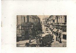 București Ou Bucarest (Roumanie) : GP Tramway Strada Carol En 1910 (animé) PF. - Roumanie
