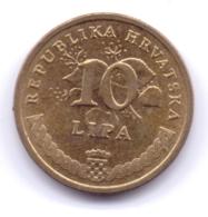 HRVATSKA 2009: 10 Lipa, KM 6 - Croatia