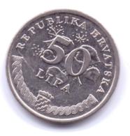 HRVATSKA 2007: 50 Lipa, KM 8 - Croatia