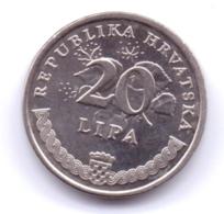 HRVATSKA 2003: 20 Lipa, KM 7 - Croatia
