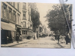 Paris XVIIe Arr. - Rue Des Batignolles - La Poste - Distretto: 17