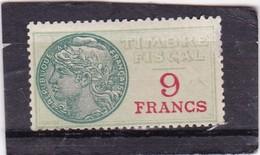 T.F S.U N°36 Neuf - Fiscaux