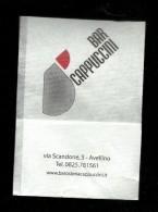 Tovagliolino Da Caffè - Bar Cappuccini - Avellino - Servilletas Publicitarias