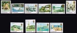 Guernsey 1984, Michel# 288 A - 297 A **  Bailiwick Views - Guernsey