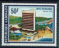 Gabon, Dialogue Hotel, Libreville, 1975, MNH VF - Gabun (1960-...)