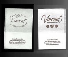 Tovagliolino Da Caffè - Caffè Gelateria Vincent - Servilletas Publicitarias