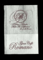 Tovagliolino Da Caffè - Caffè Romano  2 - Solofra  ( Avellino ) - Servilletas Publicitarias