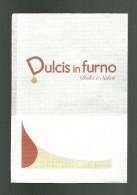 Tovagliolino Da Caffè - Dulcis In Furno - Servilletas Publicitarias